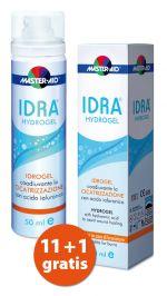 Verpackung und Spender des Master Aid IDRA® HYDROGELS