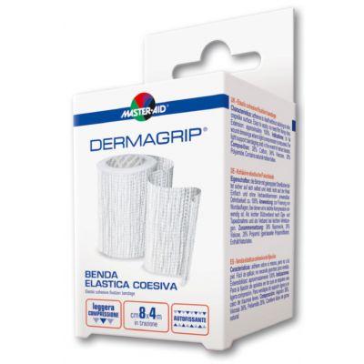 Verpackung Master Aid DERMAGRIP elastische Haftfixierbinde (grob gewebt)