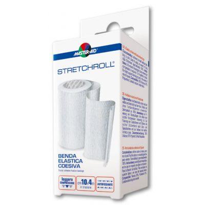 Hier sehen Sie die Verpackung der elastischen Haftfixierbinde Stretchroll