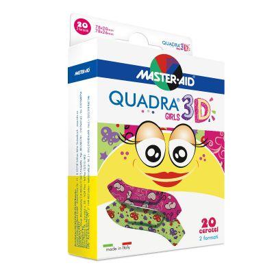 Pflasterpackung Quadra 3D Girls