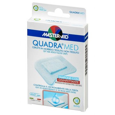 Verpackung Master Aid QUADRA®MED Wundpflaster