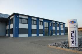 Firmengebäude der Trusetal Verbandstoffwerk GmbH